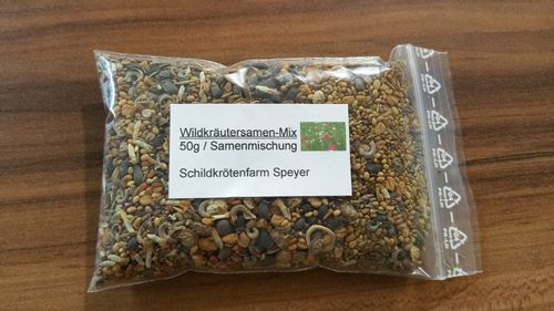 Wildkräutersamen-Mix 50g